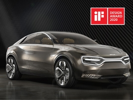 Бренд KIA наградили в рамках IF Design Awards